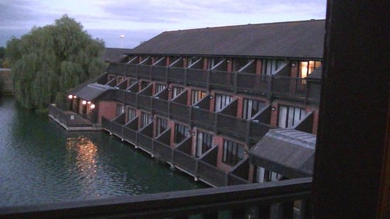 The Reading Lake Hotel: View of the lake