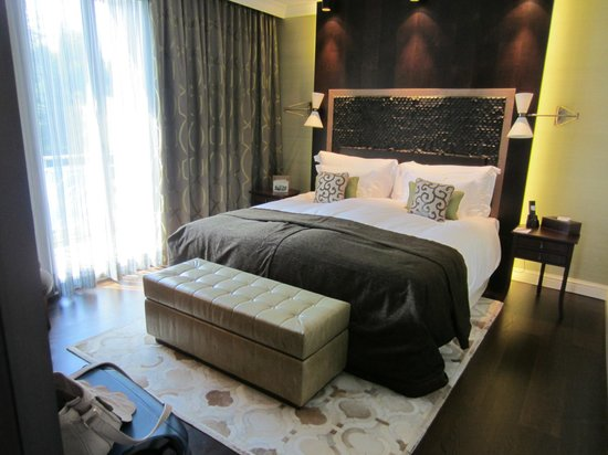 Hotel Villa Honegg : Lit
