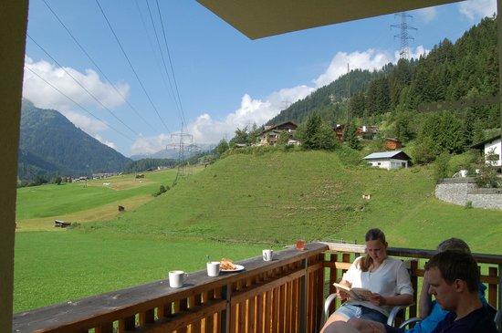 Haus Sonneneck: Uitzicht vanaf het balkon