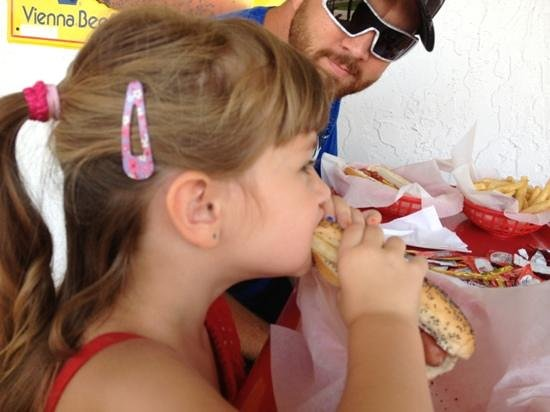 Hot Dog Heaven : yummy hotdogs!! my daughter couldn't get enough ;-)