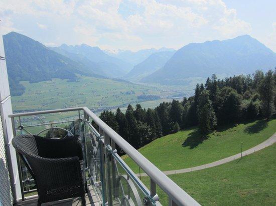 Hotel Villa Honegg : Vue depuis notre balcon