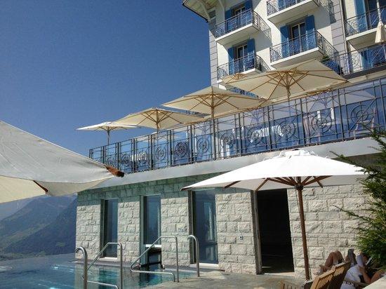 Hotel Villa Honegg: Piscine
