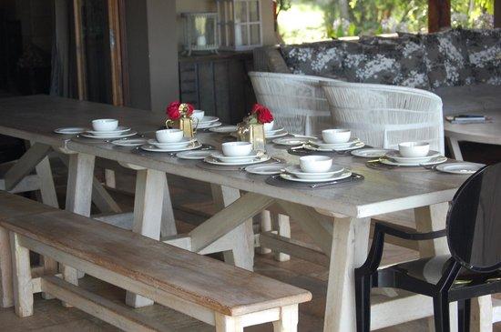 Khaya Ndlovu Manor House: ready to eat
