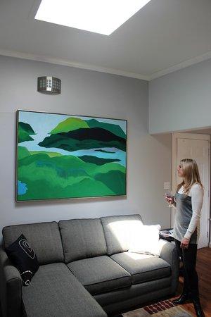 Merrickville Guest Suites: Sunrise Suite (#2) Skylight