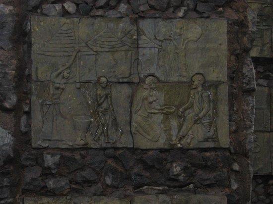 Laongo Sculpture Symposium : Entrance sculpture detail
