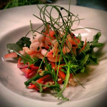 The Prince of Wales: Prawn and crayfish salad