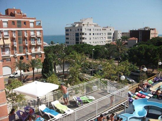 Hotel la Rapita: vistas increibles y abiertas
