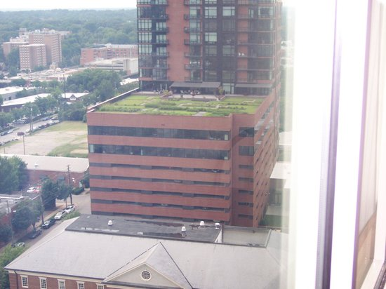 Holiday Inn Raleigh Downtown: A view from our window