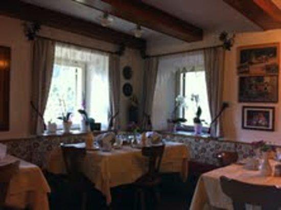 Pensione Bergheim: sala colazioni