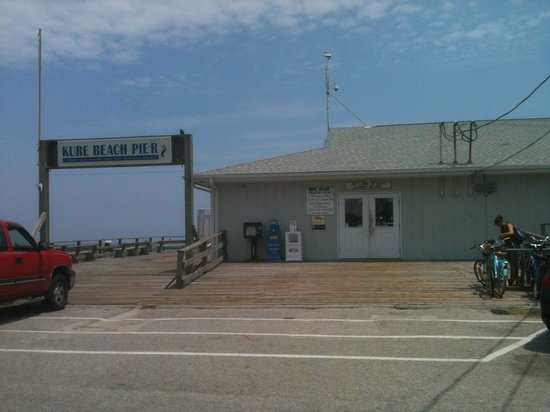 Kure Beach Pier: Love the Pier...