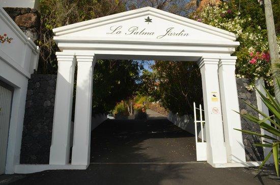 La Palma Jardin: Ingang
