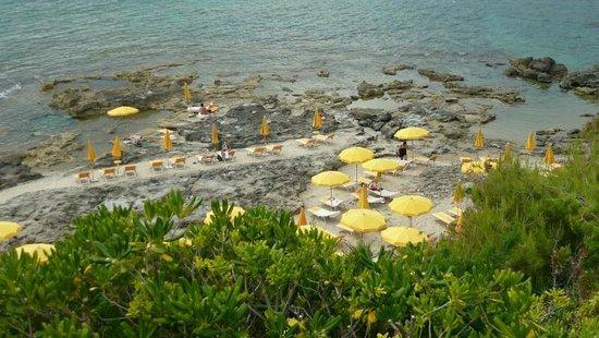Grand Hotel San Pietro : La spiaggia dell'hotel
