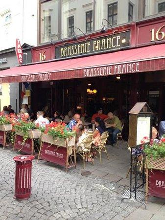 Brasserie France: French food