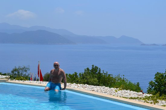 Lycia Hotel: pool & view
