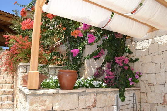 Lycia Hotel: our patio