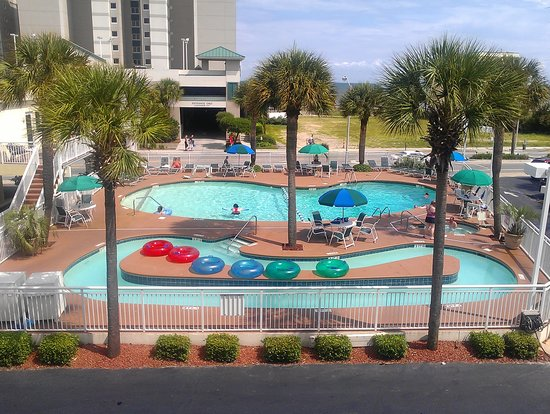 Best Western Plus Grand Strand Inn & Suites: pool/lazy river