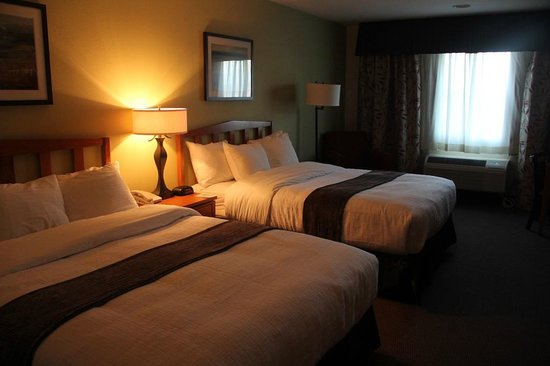 Best Western Rocky Mountain Lodge: Two Queen Bed room