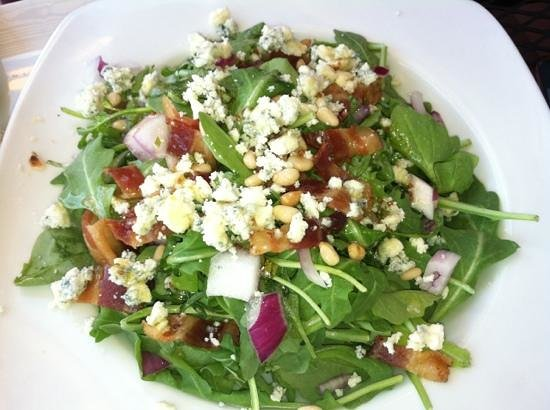 Irises Cafe and Wine Bar: Arugula Salad
