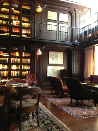 The NoMad Hotel: Library
