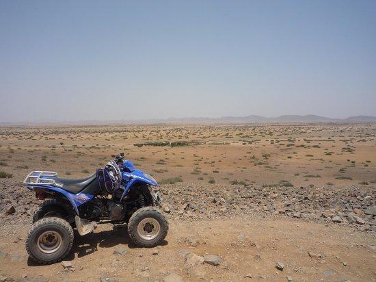 Riad Samarine : matinée quad organisée par le riad