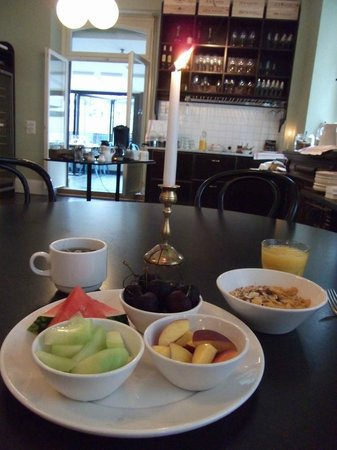 Ski Lodge Engelberg : Breakfast (prepared at a special request)