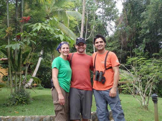 El Remanso Lodge: Gerardo, our day hike tour guide - the best!