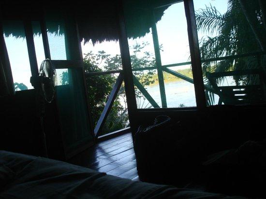 Wasai Maldonado Eco Lodge: Vista da varanda do quarto