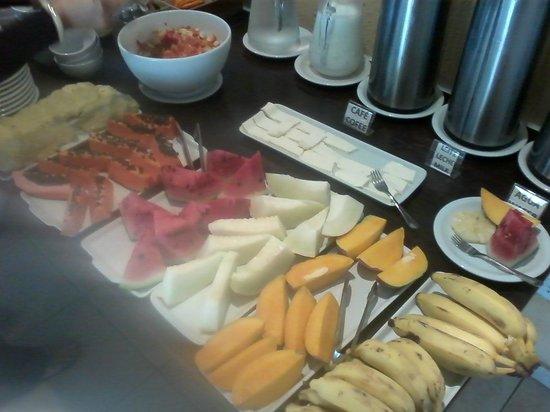 Barra da Lagoa Hotel: Y las frutas del desayuno ñam!