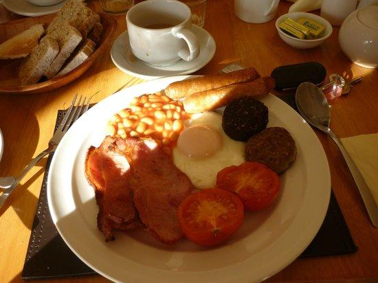 Ashton House : petit déjeuner