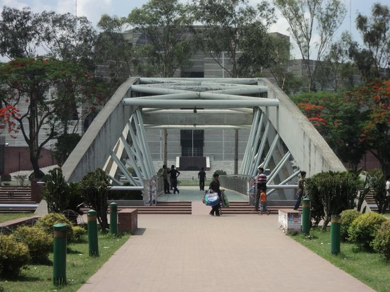 National Parliament House: Back side- from Zia Uddan
