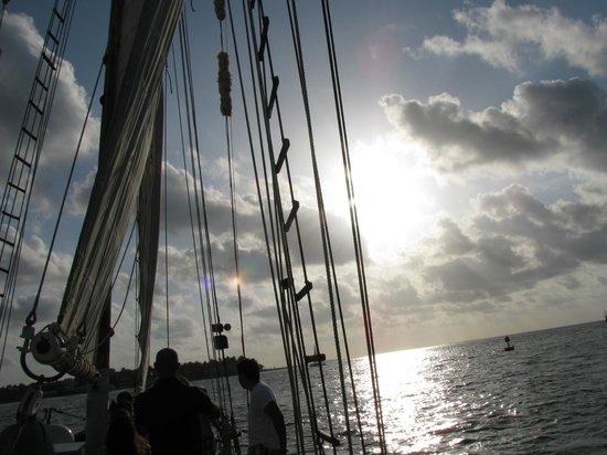 Schooner Appledore: aboard the Appledore