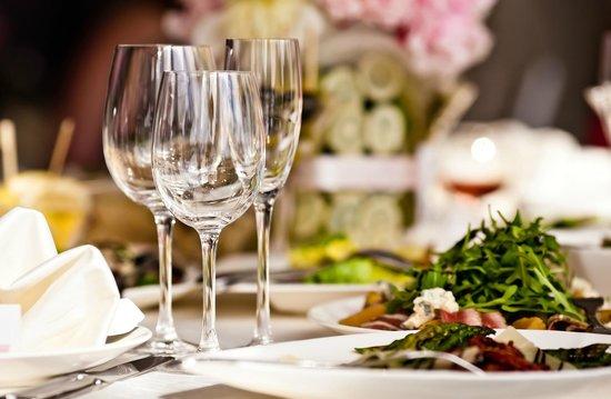 Hotel Ferienschlössl: Tisch