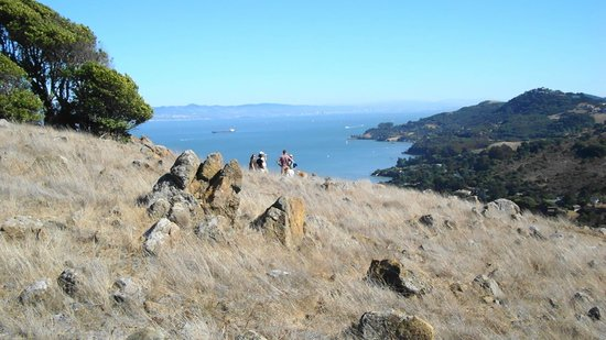 Corte Madera, Kalifornia: east bay from ring mountain
