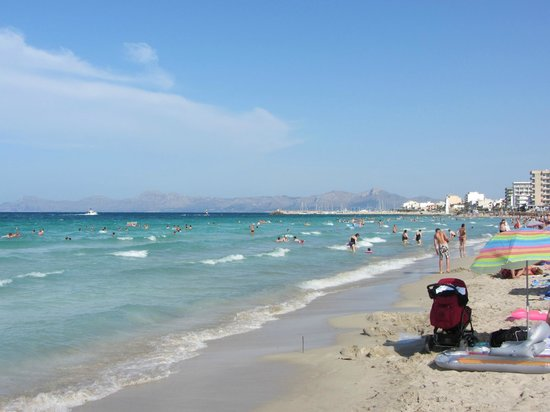 Grupotel Farrutx: Plaża