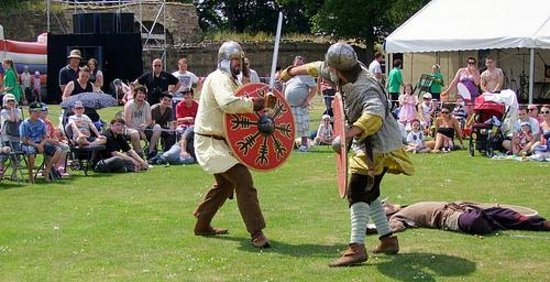 Pontefract Castle: Picnic at the Castle July 2013