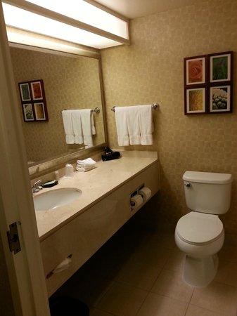 The Westin Los Angeles Airport : Baño