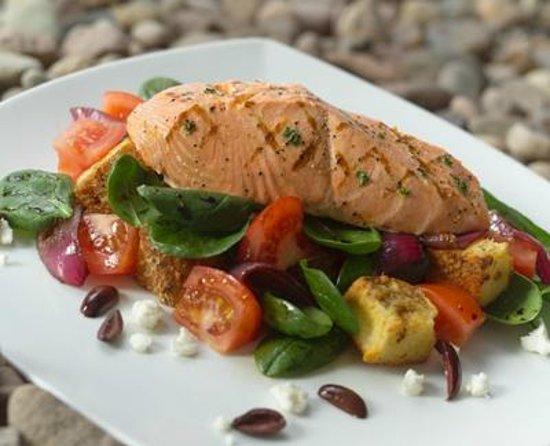 Bristol Seafood Restaurant: Grilled Salmon Panzanella
