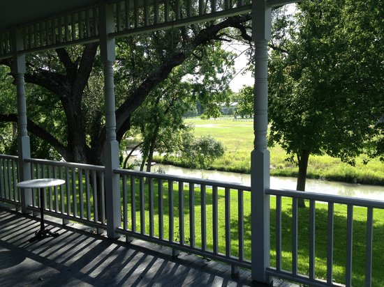 Inn on the Creek: such a lovely place to sip on something....