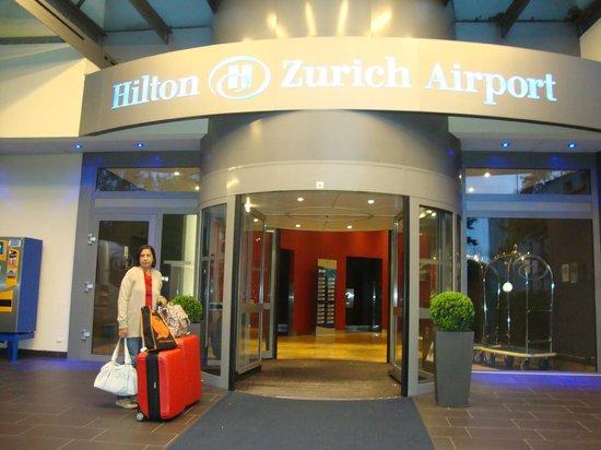 Hilton Zurich Airport: Na chegada ao Hotel.