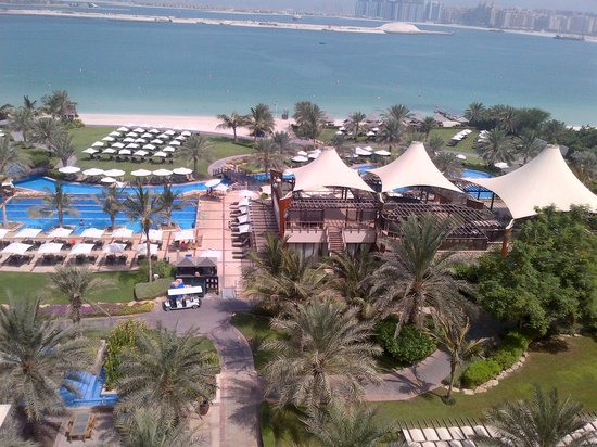 The Westin Dubai Mina Seyahi Beach Resort & Marina: View from Room