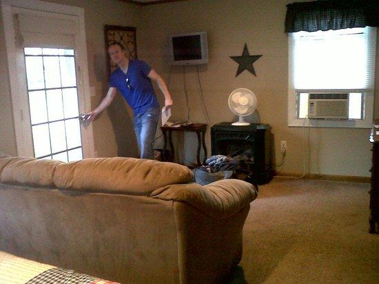 Catskill Lodge: The Delaware room