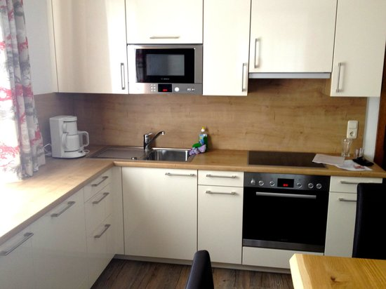 Haus Kathrin: Kitchen & sitting room - well equipped