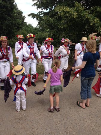 Manor Farm Country Park: The Morris dancers from Wickham
