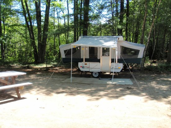 Littlefield Beaches Lakeside Campground: Pop Up Rental