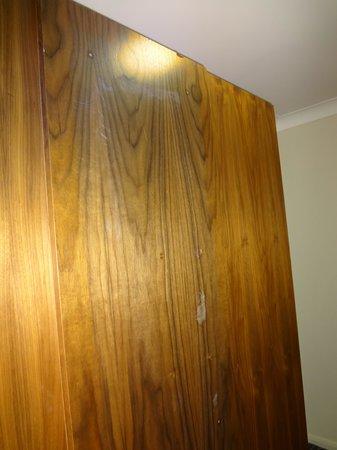De Vere Staverton Estate: Wardrobe was battered