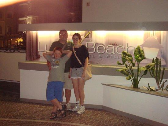 Hotel Luxor Beach: Ingresso