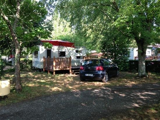 Camping L'Estival: mobilhome