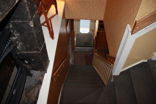 Hotel Jardin Ste-Anne: Escaleras 1