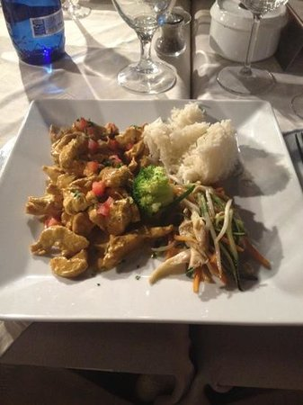 Restaurant il Giardino : chicken curry.