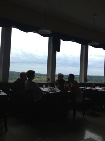 Di Trapani's Italian Bistro: view from our table